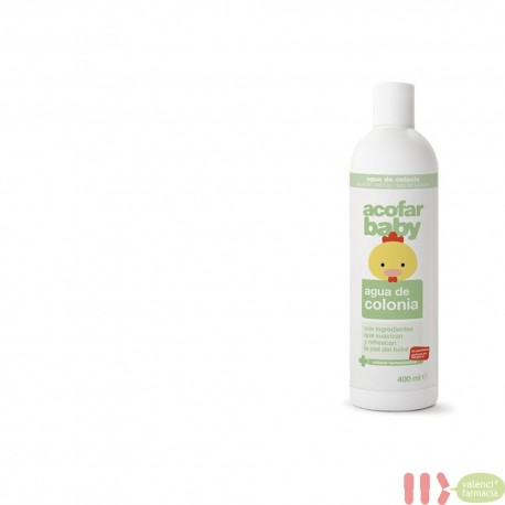 ACOFARBABY AGUA COLONIA 400 ML
