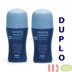 DUPLO LAMBDA CONTROL SIN ALCOHOL ROLL-ON DESODORANTE