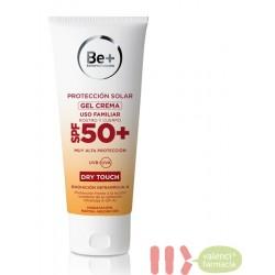 BE+ PROTECCION SOLAR GEL CREMA SPF 50+ ROSTRO Y CUERPO 200 ML