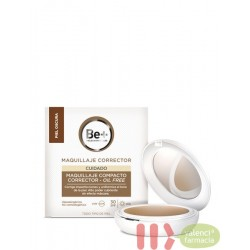 BE+ MAQUILLAJE CORRECTOR COMPACTO OIL-FREE SPF 30 PIEL OSCURA