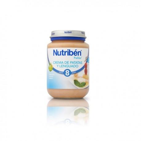 NUTRIBEN JUNIOR LENGUADO CREMA DE PATATAS +8m S/G