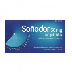 SO?DOR 50 MG 16 COMPRIMIDOS