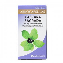 ARKOCAPSULAS CASCARA SAGRADA 250 MG 50 CAPSULAS