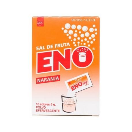 SAL DE FRUTA ENO NARANJA 5 G 10 SOBRES
