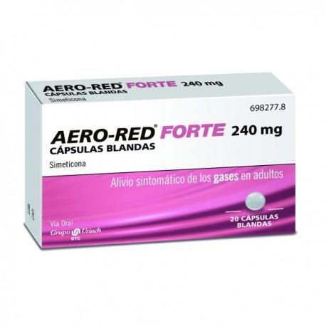 AERO RED FORTE 240 MG 20 CAPSULAS BLANDAS