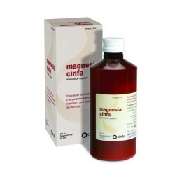 MAGNESIA CINFA 200 MG/ML SUSPENSION ORAL 300 G