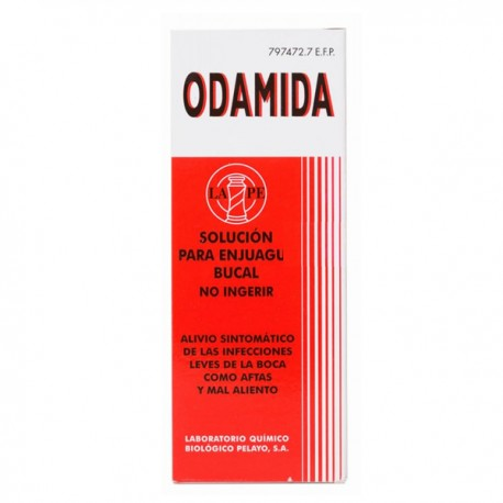 ODAMIDA SOLUCION TOPICA 135 ML