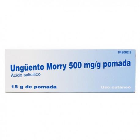 UNGUENTO MORRY 500 MG/G POMADA 15 G
