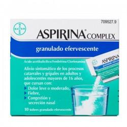 ASPIRINA COMPLEX 10 SOBRES