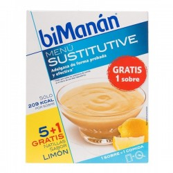 BIMANAN NATILLAS LIMON 50 G 6 SOBR