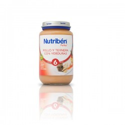 NUTRIBEN 250 JUNIOR POLLO TERNERA VERURAS +6m S/G