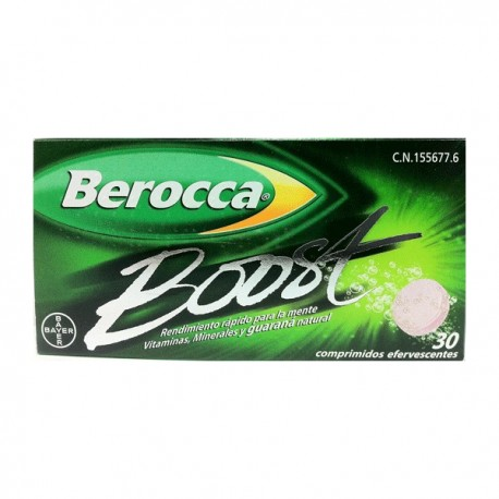 BEROCCA BOOST 30C EFERVESCENTES