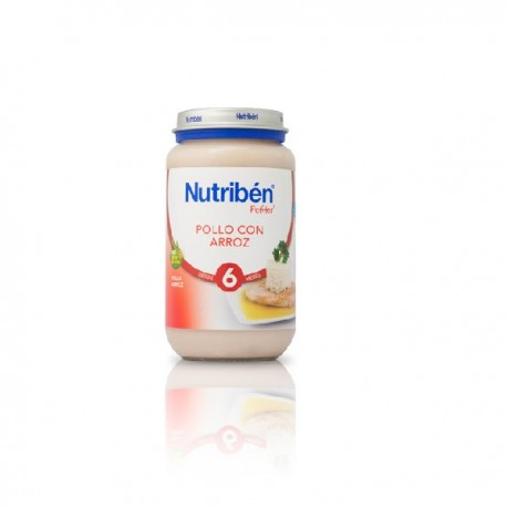 NUTRIBEN 250 JUNIOR POLLO ARROZ +6m S/G