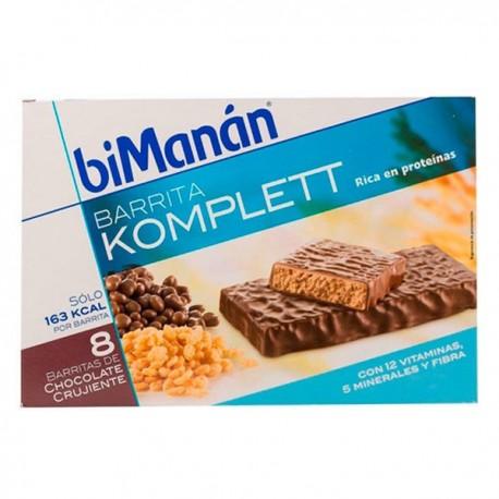 BIMANAN BARRITAS CHOCOLATE CRUJIENTES SNACK 280 G