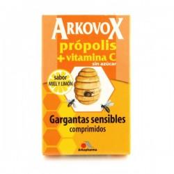 ARKOVOX PROPOLIS+VITAMINA C 20 COMPRIMIDOS PARA CHUPAR