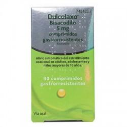 DULCOLAXO BISACODILO 5 MG 30 COMPRIMIDOS GASTRORRESISTENTES