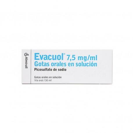 EVACUOL 7.5 MG/ML GOTAS ORALES SOLUCION 30 ML