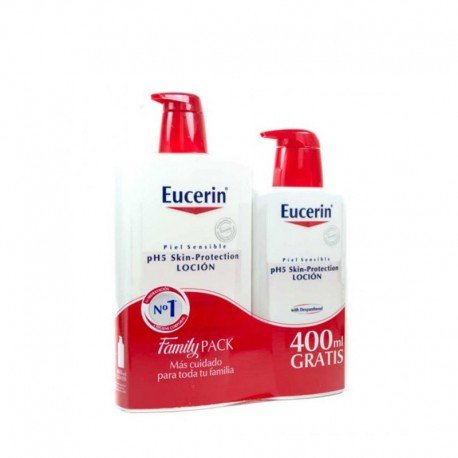 EUCERIN PACK LOCION 1L + 400ML DE REGALO