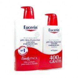 EUCERIN PACK LOCION ENRIQUECIDA 1L + 400ML REGALO