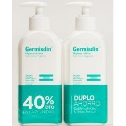 GERMISDIN DUO HIGIENE INTINMA 250 ML PACK 40% 2º UNIDAD