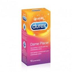 DUREX DAME PLACER 12 PRESERVATIVOS