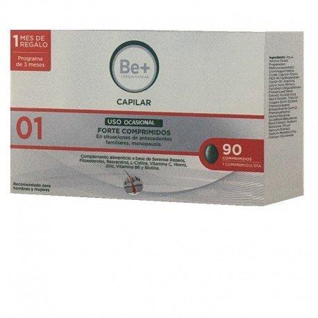 BE+ CAPILAR USO OCASIONAL FORTE 90 COMP, 1 MES DE REGALO