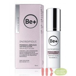 BE+ ENERGIFIQUE PRIMERAS ARRUGAS ANTIPOLUCION SERUM MULTI ACCION 30 ML