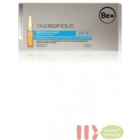 BE+ ENERGIFIQUE AMPOLLAS PROTEOGLICANOS SPF 15 30 U X 2 ML