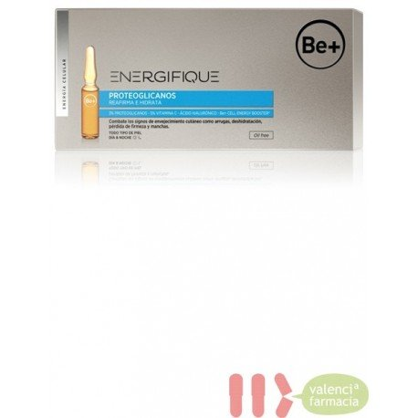 BE+ ENERGIFIQUE AMPOLLAS PROTEOGLICANOS 30 U X 2 ML OIL FREE