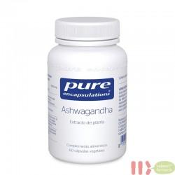 PURE ASHWAGANDHA ENCAPSULATIONS 60 CAPSULAS