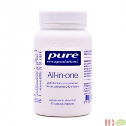PURE ALL IN ONE ENCAPSULATIONS 60 CAPSULAS