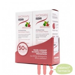 WOMAN ISDIN DUPLO ANTIESTRIAS 250ML+ 250 ML