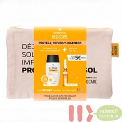 NECESER PIEL SENSIBLE HELIOCARE 360 MINERAL TOLERANC FLUID+ ENDOCARE RADIANCE OIL FREE10 AMPOLL