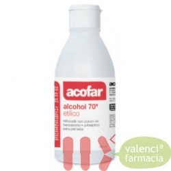 ALCOHOL 70 ACOFAR 250 ML