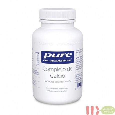 PURE COMPLEJO DE CALCIO ENCAPSULATIONS 90 CAPSULAS