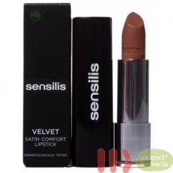 SENSILIS VELVET SATIN LIPSTICK 3.5 ML CANNELLE 203
