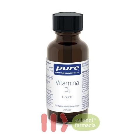 PURE VITAMINA D3 ENCAPSULATIONS 1 ENVASE 22.5 ML