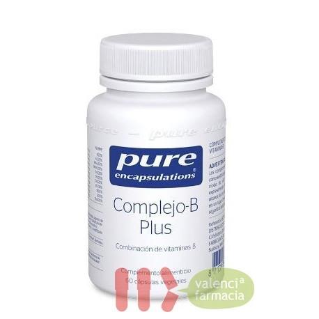 PURE COMPLEJO B PLUS ENCAPSULATIONS 60 CAPSULAS