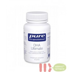 PURE DHA ULTIMATE ENCAPSULATIONS 60 PERLAS