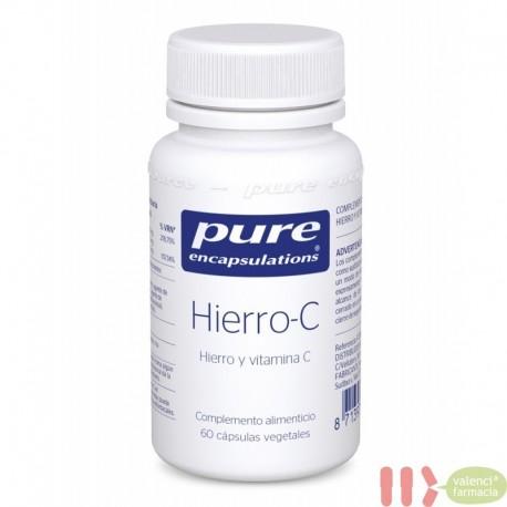 PURE HIERRO-C ENCAPSULATIONS 60 CAPSULAS