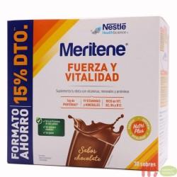 MERITENE DUPLO CHOCOLATE 30 SOBRES FORMATO AHORRO