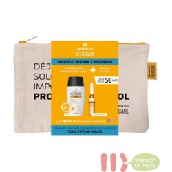 NECESER TODO RIPO PIELES HELIOCARE 360 SPF50+ WATER GEL + ENDOCARE RADIANCE C OIL FREE10 AMPOLL