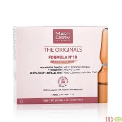 MARTIDERM FORMULA Nº 10 HD COLOR TOUCH SPF 30 10 AMPOLLAS 2 ML