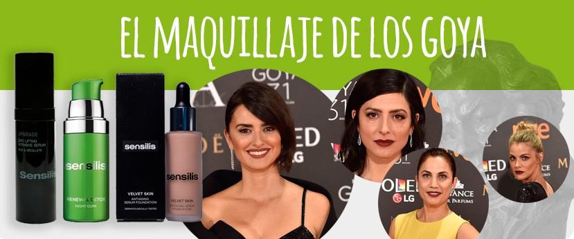 El maquillaje de los Goya 2017